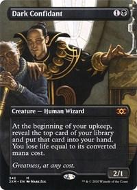 Dark Confidant (Borderless), Magic: The Gathering, Double Masters