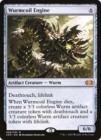 Wurmcoil Engine, Magic, Double Masters