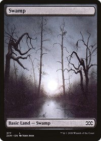 Swamp (377), Magic: The Gathering, Double Masters