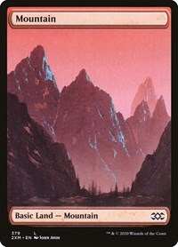 Mountain (379), Magic: The Gathering, Double Masters
