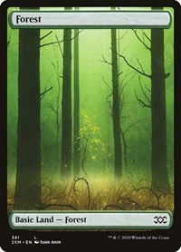 Forest (381), Magic: The Gathering, Double Masters