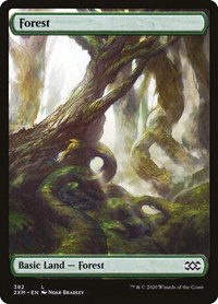 Forest (382), Magic: The Gathering, Double Masters