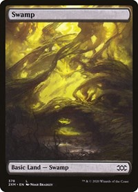 Swamp (378), Magic: The Gathering, Double Masters