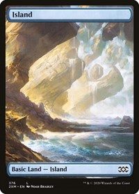 Island (376), Magic: The Gathering, Double Masters