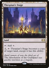 Thespian's Stage, Magic: The Gathering, Double Masters