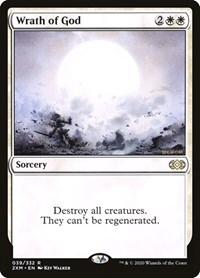Wrath of God, Magic: The Gathering, Double Masters