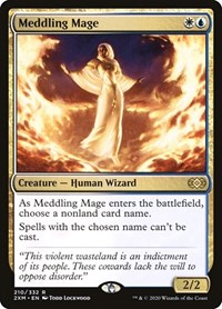 Meddling Mage, Magic: The Gathering, Double Masters