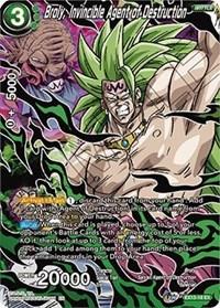 Broly, Invincible Agent of Destruction, Dragon Ball Super CCG, Special Anniversary Set 2020