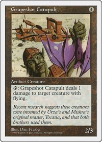 Grapeshot Catapult, Magic: The Gathering, Fifth Edition
