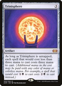 Trinisphere, Magic: The Gathering, Double Masters