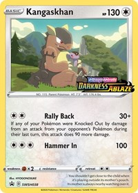 Kangaskhan - SWSH038 (Prerelease Promo), Pokemon, SWSH: Sword & Shield Promo Cards