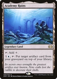 Academy Ruins, Magic, Double Masters