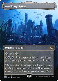 Academy Ruins (Borderless), Magic: The Gathering, Double Masters