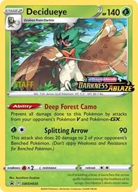 Decidueye - SWSH035 (Prerelease Promo) [Staff], Pokemon, SWSH: Sword & Shield Promo Cards