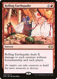 Rolling Earthquake, Magic, Double Masters