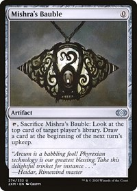 Mishra's Bauble, Magic: The Gathering, Double Masters