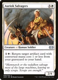Auriok Salvagers, Magic: The Gathering, Double Masters