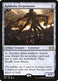 Kuldotha Forgemaster, Magic: The Gathering, Double Masters