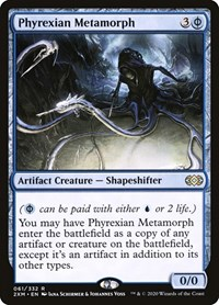 Phyrexian Metamorph, Magic: The Gathering, Double Masters