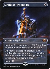 Sword of Fire and Ice (Borderless)