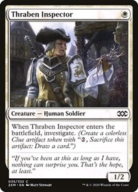 Thraben Inspector, Magic, Double Masters