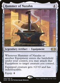 Hammer of Nazahn, Magic: The Gathering, Double Masters