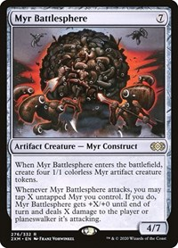 Myr Battlesphere, Magic: The Gathering, Double Masters