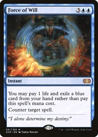 Force of Will, Magic: The Gathering, Double Masters