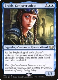 Braids, Conjurer Adept, Magic: The Gathering, Double Masters