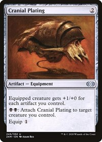 Cranial Plating, Magic: The Gathering, Double Masters