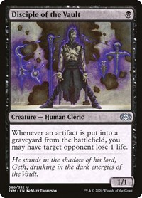 Disciple of the Vault, Magic, Double Masters