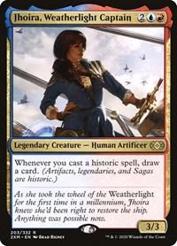 Jhoira, Weatherlight Captain, Magic: The Gathering, Double Masters