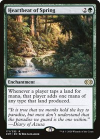 Heartbeat of Spring, Magic: The Gathering, Double Masters