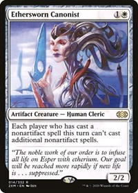 Ethersworn Canonist, Magic: The Gathering, Double Masters