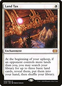 Land Tax, Magic: The Gathering, Double Masters