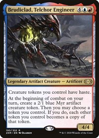 Brudiclad, Telchor Engineer, Magic: The Gathering, Double Masters