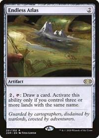 Endless Atlas, Magic: The Gathering, Double Masters