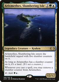 Arixmethes, Slumbering Isle, Magic: The Gathering, Double Masters