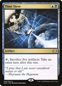Time Sieve, Magic: The Gathering, Double Masters