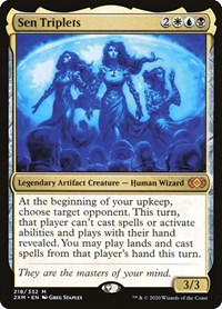 Sen Triplets, Magic: The Gathering, Double Masters