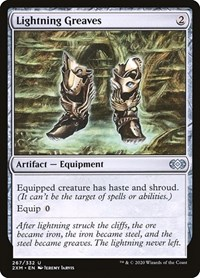 Lightning Greaves, Magic: The Gathering, Double Masters