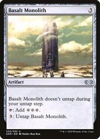Basalt Monolith, Magic: The Gathering, Double Masters