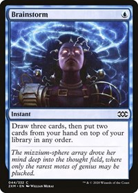 Brainstorm, Magic: The Gathering, Double Masters