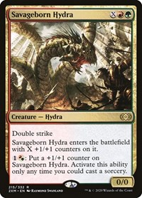 Savageborn Hydra, Magic: The Gathering, Double Masters