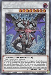 Chaos Ruler, the Chaotic Magical Dragon, YuGiOh, Rise of the Duelist