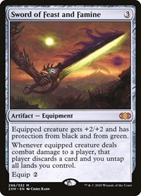 Sword of Feast and Famine, Magic: The Gathering, Double Masters