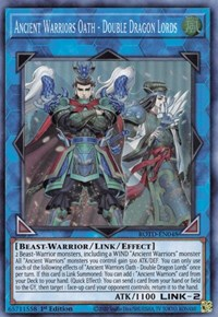 Ancient Warriors Oath - Double Dragon Lords