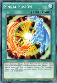 Spiral Fusion, YuGiOh, Rise of the Duelist