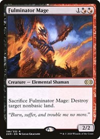 Fulminator Mage, Magic, Double Masters