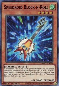 Speedroid Block-n-Roll, YuGiOh, Rise of the Duelist